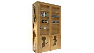 Rapture Resin Stor Door Cabinet