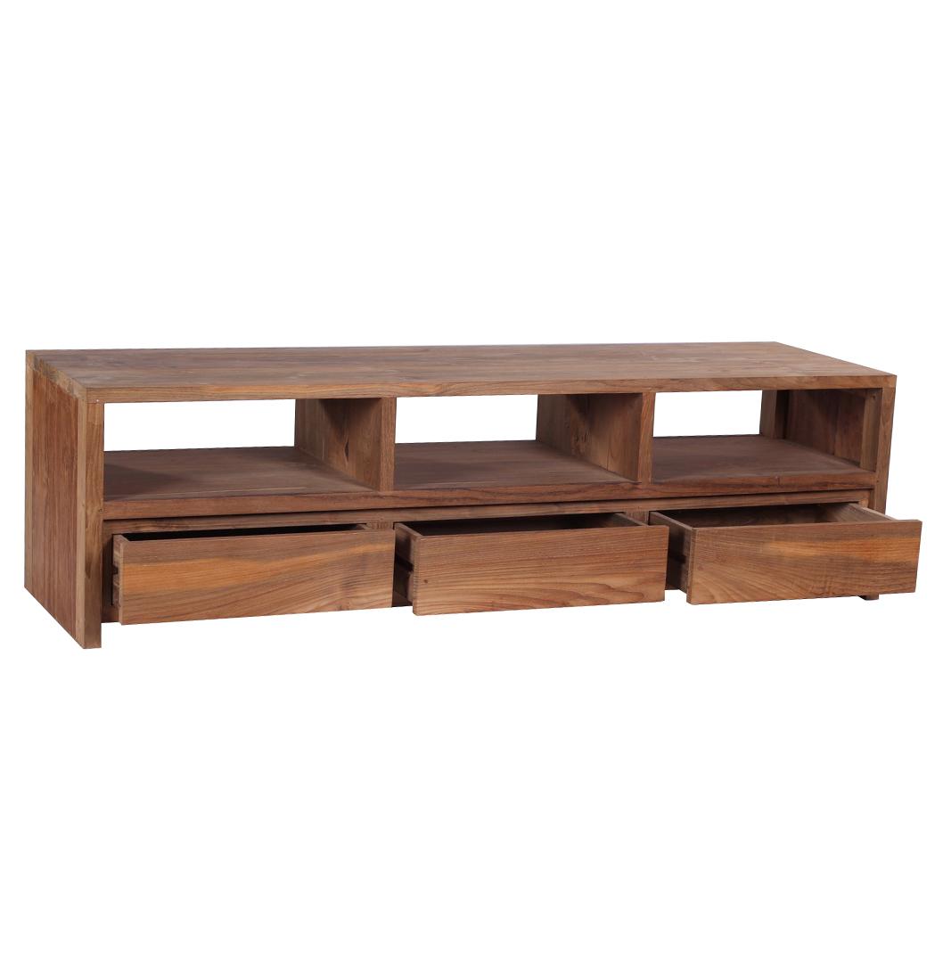 reclaimed teak furniture tv unit less expensive