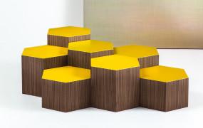 'Six' Bross Coffee Table