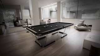 T1 Pool Table – Nine Foot Size. By Teckell