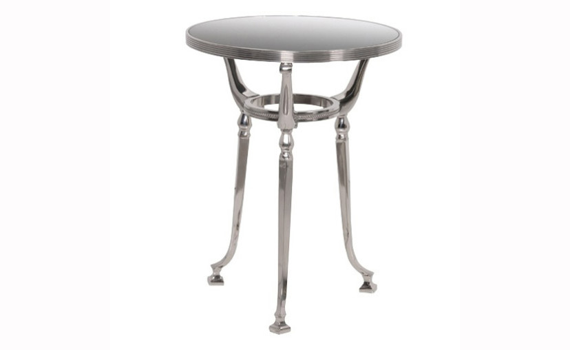 Aluminium Glass Side Table With Free Delivery