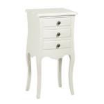 Antoinette White Bedside Table