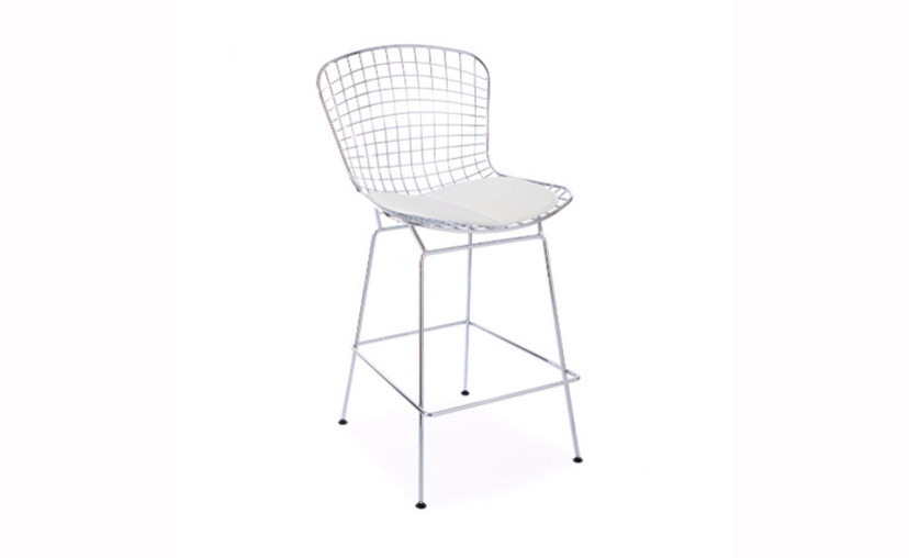 Bertoia wire bar stool white with free delivery - Bertoia wire counter stool ...