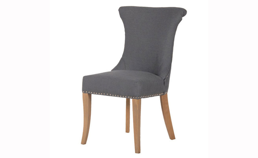Dark Grey Dining Chair with free delivery