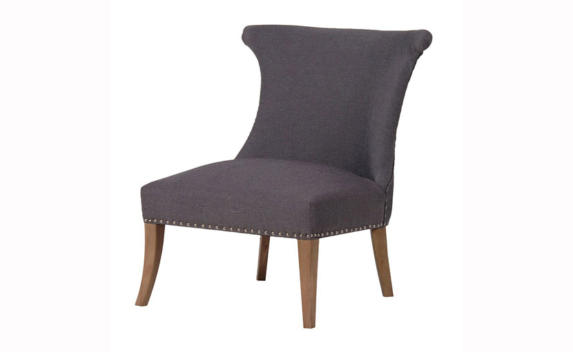 Charcoal Low Chair with free delivery