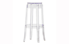 Clear Perspex Bar Stool