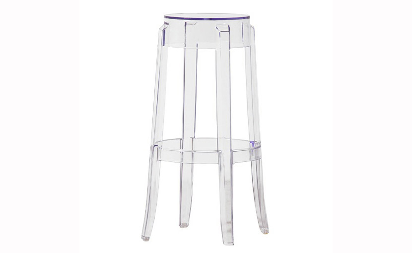 Clear Perspex Bar Stool With Free Delivery