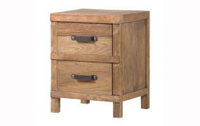 Dayton Elm Bedside Table
