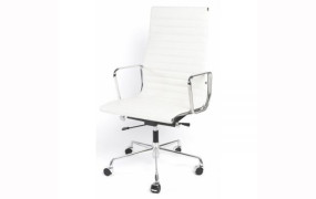 Eames Style High Back Ribbed Office Chair, free delivery.