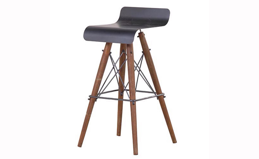 Eames Inspired Bar Stool with free delivery : Eames inspired Bar stool from www.theultimatelivingcompany.com size 830 x 510 jpeg 92kB