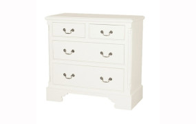 Georgian 2+2 Chest Of Drawers