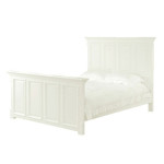 Georgian White King Size Bed