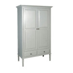 Grey Fayence Wardrobe
