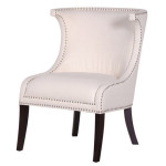Ivory Studded Chair