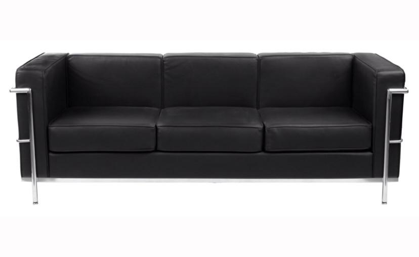 sofa le corbusier le corbusier 1928 lc2 sofa 2 seater ds 22 bauhaus age thesofa. Black Bedroom Furniture Sets. Home Design Ideas
