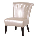 Pearl Button Back Chair