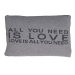 Pair Of 'All You Need Is Love' Cushions