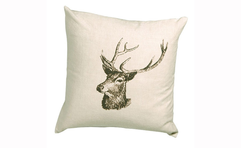Pair Of Deer Cushion Covers with free delivery.