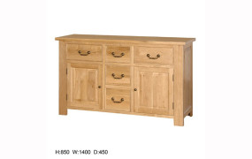 Quebec Oak Sideboard