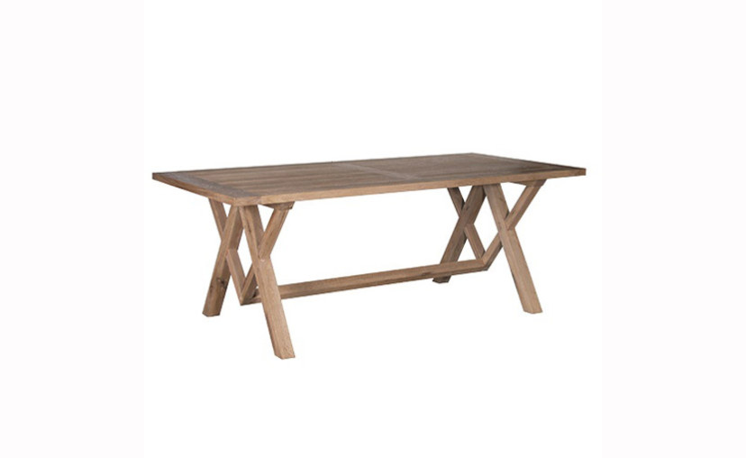 Rustic Oak Dining Table With Free Delivery