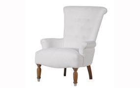 White Linen Relax Armchair