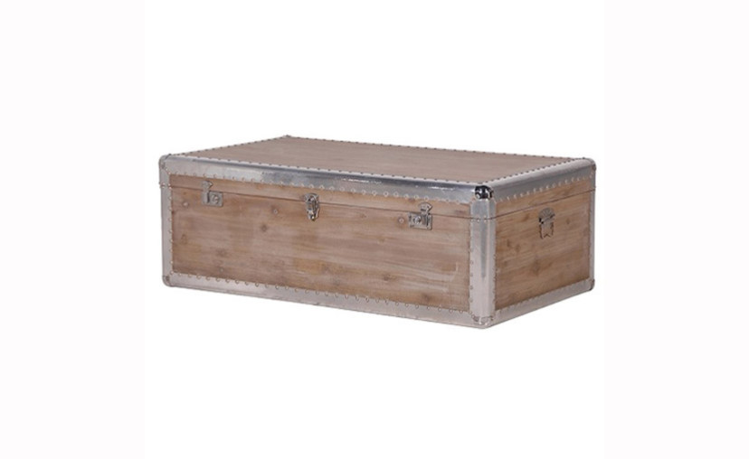 wooden trunk coffee table with free delivery