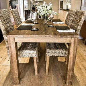 Malimbu Reclaimed Dining Table and 6 Chairs