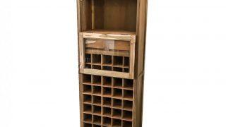 Anjeman Reclaimed Wood Wine Rack