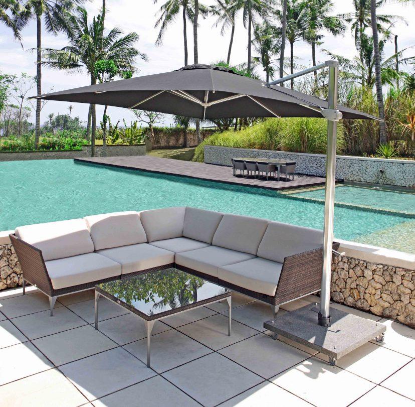 Brafta Square Coffee Table By Skyline, Skyline Outdoor Furniture