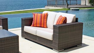 Brando Love Seat by Skyline Design