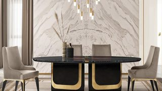 Majestique Dining Table by OPR House