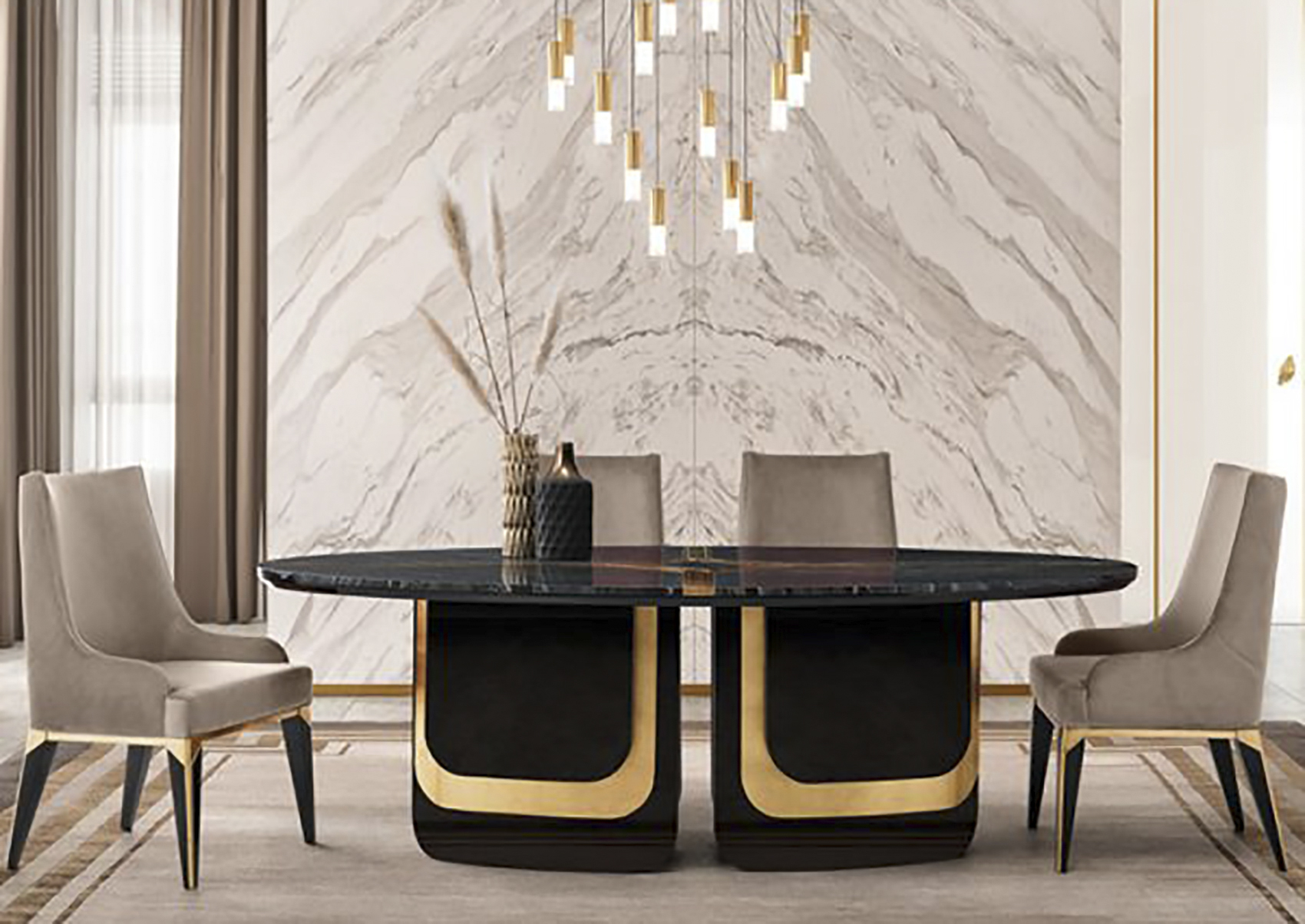 Majestique Dining Table By Opr House The Ultimate Living Company