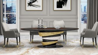 Sarono Dining Table by OPR House